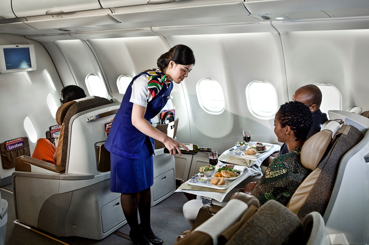 South African Airways - Business Class