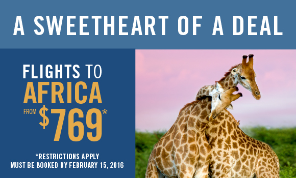 Low Fares To Africa