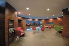 An image of the ORTIA Arrivals Lounge