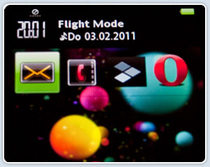 Flight mode image