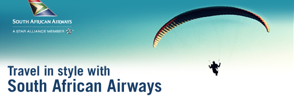 Experience the world with South African Airways