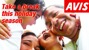 AVIS - Take a break this holiday season