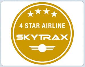 Skytrax 4 Stars