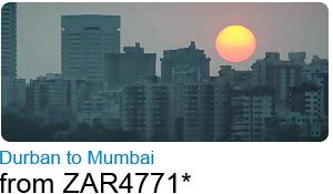 Durban to Mumbai
