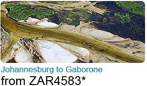 Johannesburg to Gaborone