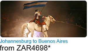Johannesburg to Buenos Aires