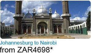 Johannesburg to Nairobi