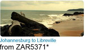Johannesburg to Libreville
