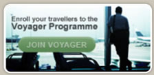 Enroll your travellers to the Voyager Programme - Join Voyager