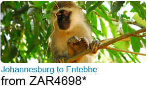 Johannesburg to Entebbe