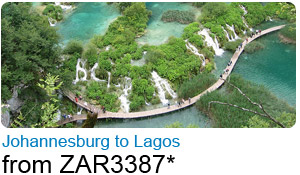 Johannesburg to Lagos