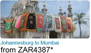 Johannesburg to Mumbai