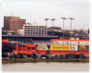 Stadium in Abidjan