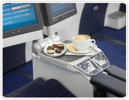 Cofee in the aircraft