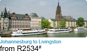Johannesburg to Livingston from R2534#