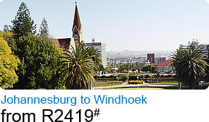 Johannesburg to Windhoek from R2419#