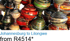 Johannesburg to Lilongwe from R4514*