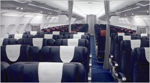 Aircraft features aircraft model saa south african for Interieur airbus a340 600