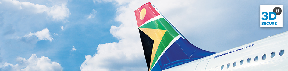 SAA Introduces 3D Secure Payments on flysaa.com