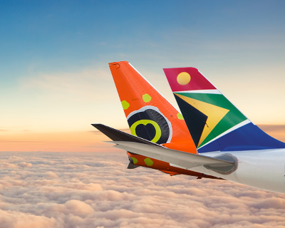 Flights to South Africa & Beyond - South African Airways