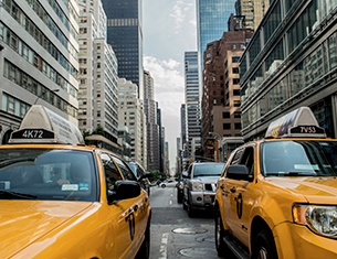 Taxis new yorkais