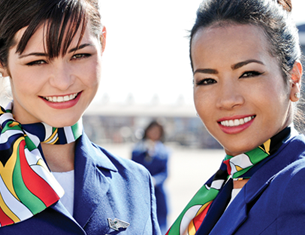 South African Airways hostesses
