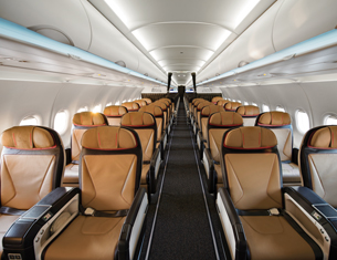 SAA Cabins and Seat Types